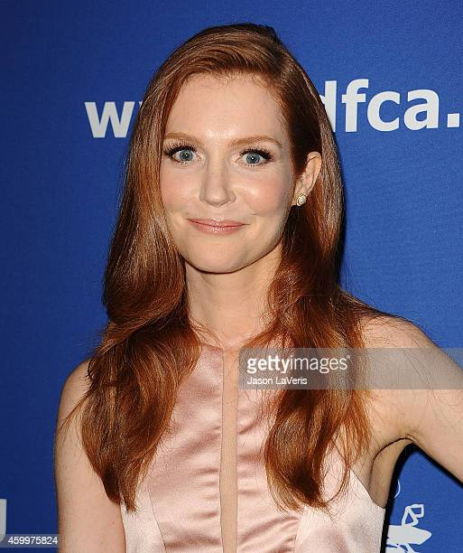 Actress Darby Stanchfield attends Children's Defense Fund's 24th annual Beat The Odds Awards at The Book Bindery on December 4 2014 in Culver City...