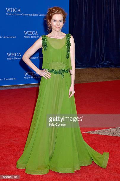 Actress Darby Stanchfield attends the 100th Annual White House Correspondents' Association Dinner at the Washington Hilton on May 3 2014 in...