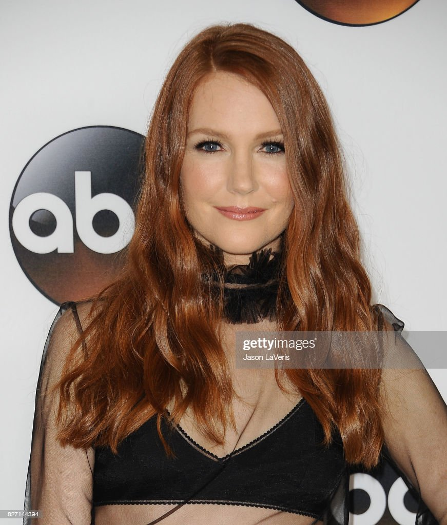 Actress Darby Stanchfield attends the Disney ABC Television Group TCA summer press tour at The Beverly Hilton Hotel on August 6, 2017 in Beverly Hills, California.