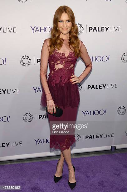 Actress Darby Stanchfield attends The Paley Center For Media presents an evening with the cast of Scandal at Paley Center For Media on May 14 2015 in...