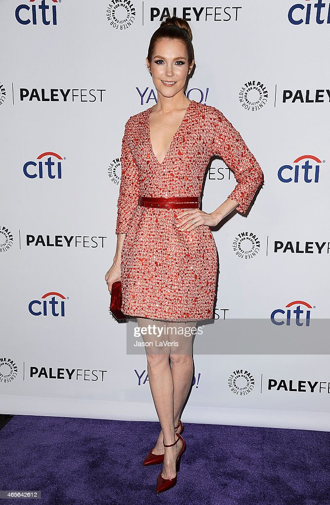 Actress Darby Stanchfield attends the