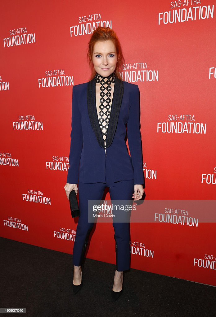 Actress Darby Stanchfield attends the Screen Actors Guild Foundation 30th Anniversary Celebration at Wallis Annenberg Center for the Performing Arts on November 5, 2015 in Beverly Hills, California.
