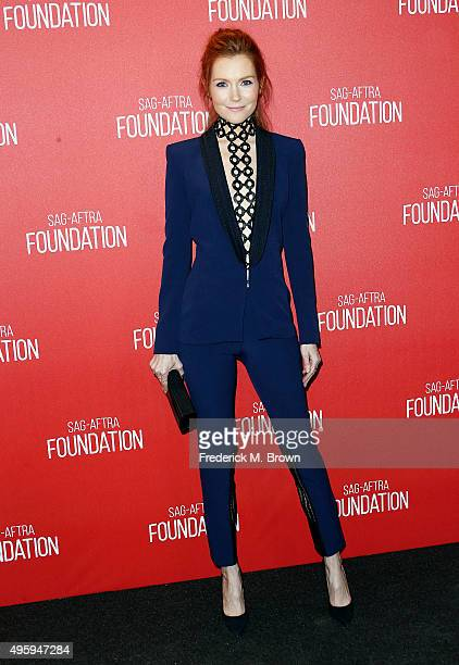 Actress Darby Stanchfield attends the Screen Actors Guild Foundation 30th Anniversary Celebration at the Wallis Annenberg Center for the Performing...