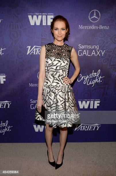 Actress Darby Stanchfield attends Variety and Women in Film Emmy Nominee Celebration powered by Samsung Galaxy on August 23 2014 in West Hollywood...