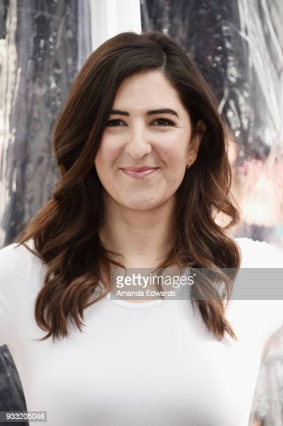 Actress D'Arcy Carden arrives at the premiere of Warner Bros Pictures and IMAX Entertainment's 'Pandas' at the TCL Chinese Theatre IMAX on March 17...