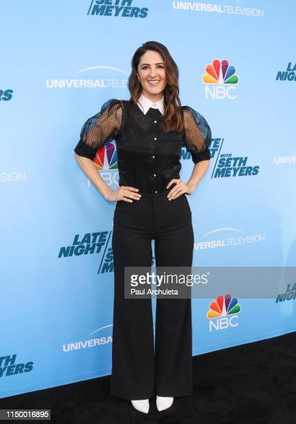 Actress D'Arcy Carden attends the FYC event for NBC's Late Night With Seth Meyers at the Saban Media Center on May 17 2019 in North Hollywood...