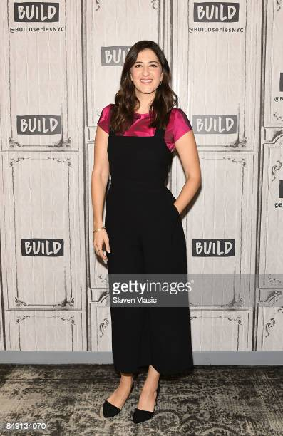 Actress D'Arcy Carden discusses the NBC comedy The Good Place at Build Studio on September 18 2017 in New York City