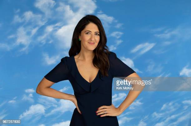 Actress D'Arcy Carden is photographed for Los Angeles Times on April 16 2018 in Studio City California PUBLISHED IMAGE CREDIT MUST READ Kirk...