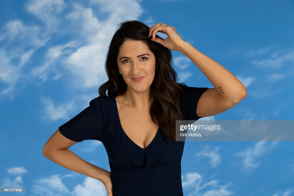 D'Arcy Carden, Los Angeles Times, May 17, 2018 : News Photo