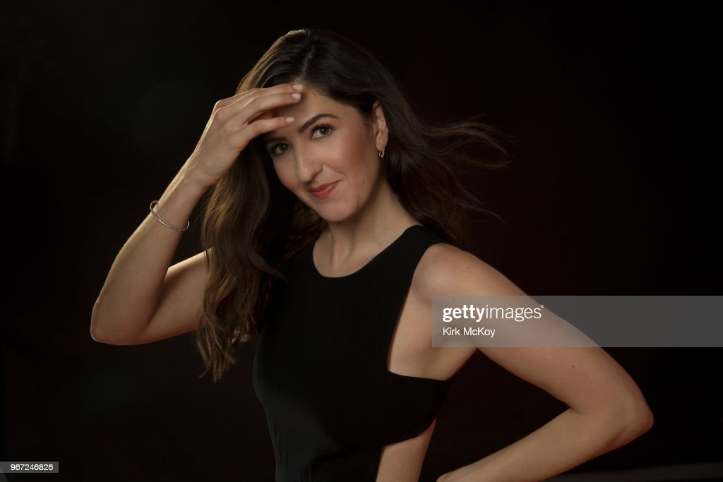 D'Arcy Carden, Los Angeles Times, May 9, 2018 : News Photo