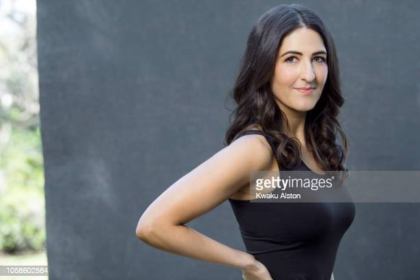 Actress D'Arcy Carden is photographed for The Hollywood Reporter on April 17 2018 in Los Angeles California