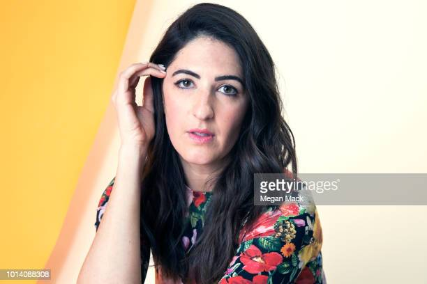 Actress D'Arcy Carden is photographed for The Wrap on April 26 2018 in Los Angeles California PUBLISHED IMAGE