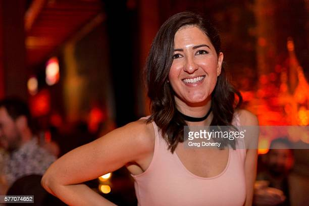 """Actress D'Arcy Carden poses for a picture at the 2016 Outfest Los Angeles Closing Night Gala Of """"Other People"""" After Party at The Theatre at Ace..."""