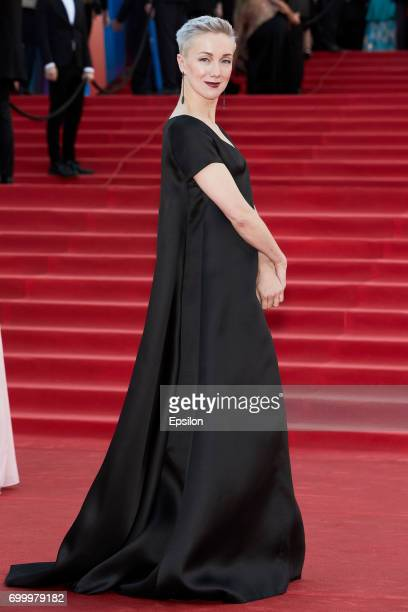 Actress Daria Moroz attends opening of the 39th Moscow International Film Festival outside the Karo 11 Oktyabr Cinema on June 22 2017 in Moscow Russia