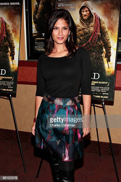 Actress Darlene Rodriguez attends the premiere of 'The Road' at the Clearview Chelsea Cinemas on November 16 2009 in New York City