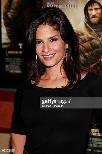 Actress Darlene Rodriguez attends the premiere of The Road at the Clearview Chelsea Cinemas on November 16 2009 in New York City