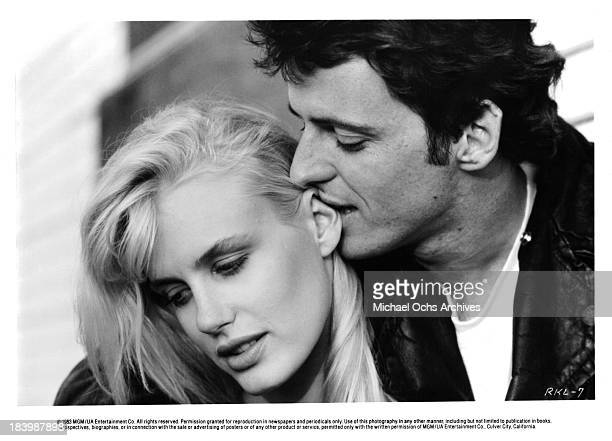 Actress Daryl Hannah and Actor Aidan Quinn in a scene from the MGM movie ' Reckless' in 1983