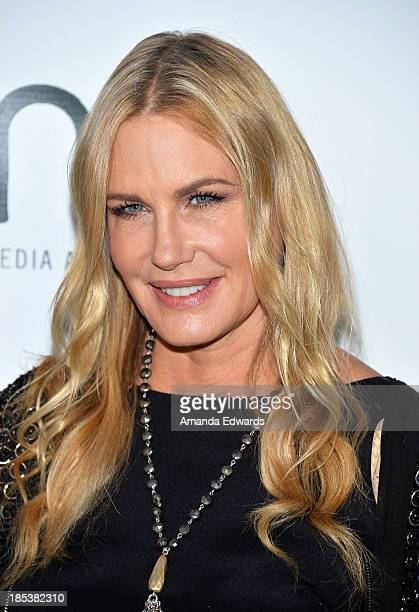 Actress Daryl Hannah arrives at the 2013 Environmental Media Awards at Warner Bros Studios on October 19 2013 in Burbank California