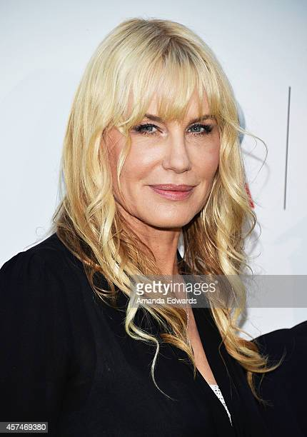 Actress Daryl Hannah arrives at the 2014 Environmental Media Awards at Warner Bros Studios on October 18 2014 in Burbank California