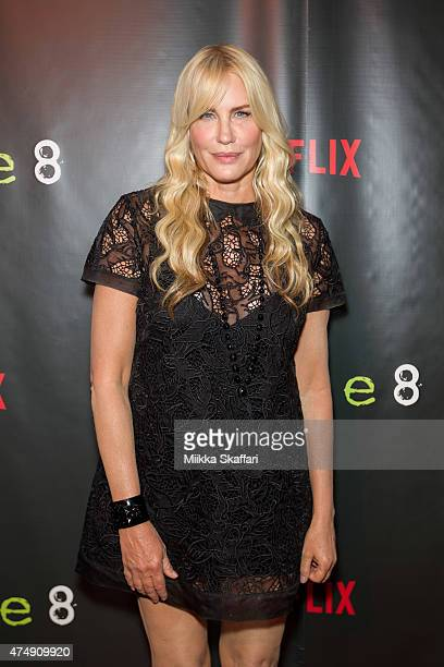 Actress Daryl Hannah arrives at the Premiere of Sense8 at AMC Metreon 16 on May 27 2015 in San Francisco California