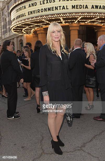 Actress Daryl Hannah attends the 24th Annual Environmental Media Awards presented by Toyota and Lexus at Warner Bros Studio on October 18 2014 in...