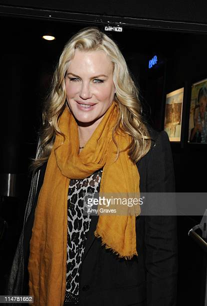 Actress Daryl Hannah attends the Painted Turtle 7th Annual Bingo Night at the Roxy at The Roxy Theatre on March 11 2010 in West Hollywood California