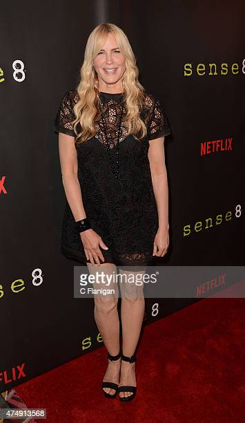 Actress Daryl Hannah attends the Premiere Of Netflix's 'Sense8' at AMC Metreon 16 on May 27 2015 in San Francisco California