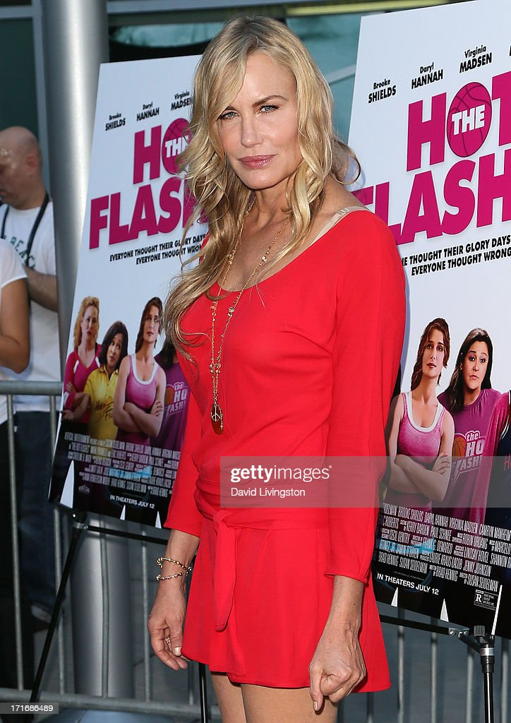 Actress Daryl Hannah attends the premiere of 'The Hot Flashes' at ArcLight Cinemas on June 27, 2013 in Hollywood, California.