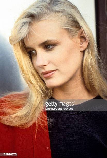 Actress Daryl Hannah in a scene from the MGM movie Reckless in 1983