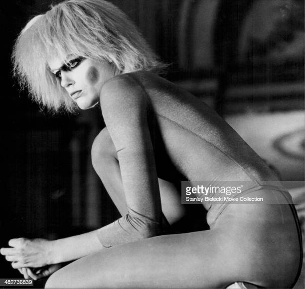 Actress Daryl Hannah in a scene from the movie 'Blade Runner' 1982