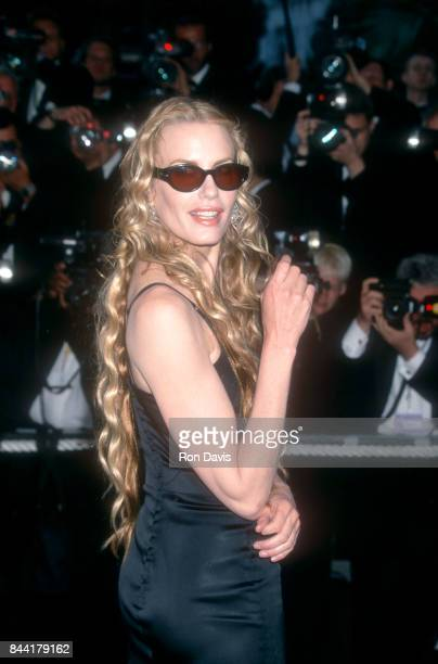 Actress Daryl Hannah poses for a portrait during the 1996 Cannes Film Festival on May 12 1996 in Cannes France