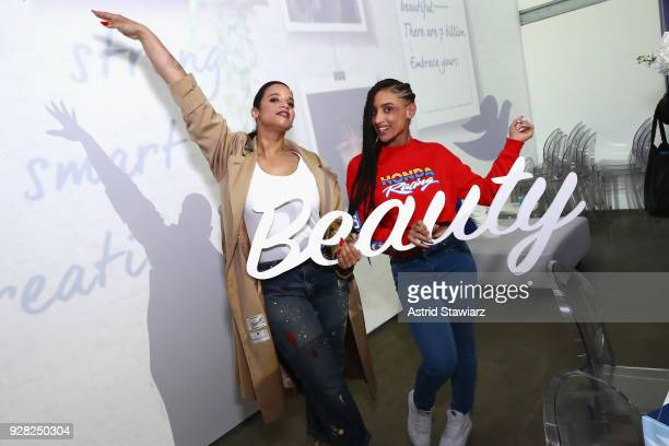 Actress Dascha Polanco and her daughter Dasany mentor local girls from the Boys and Girls Clubs of America at an empowering Dove SelfEsteem Workshop...