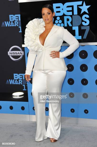Actress Dascha Polanco arrives at the 2017 BET Awards at Microsoft Theater on June 25 2017 in Los Angeles California