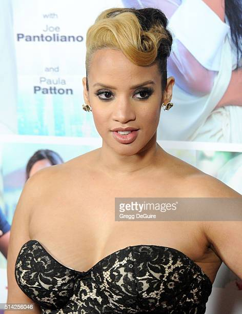 Actress Dascha Polanco arrives at the premiere of Lionsgate's The Perfect Match at ArcLight Hollywood on March 7 2016 in Hollywood California