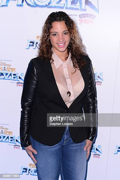 Actress Dascha Polanco attends Disney On Ice presents Frozen at Barclays Center on November 11 2014 in New York City