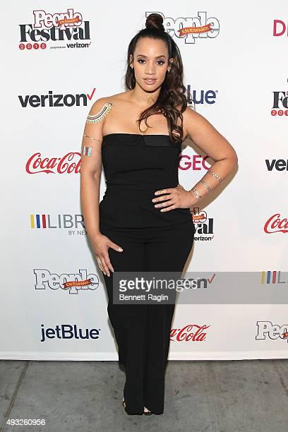 Actress Dascha Polanco attends Festival PEOPLE En Espanol 2015 presented by Verizon at Jacob Javitz Center on October 18 2015 in New York City
