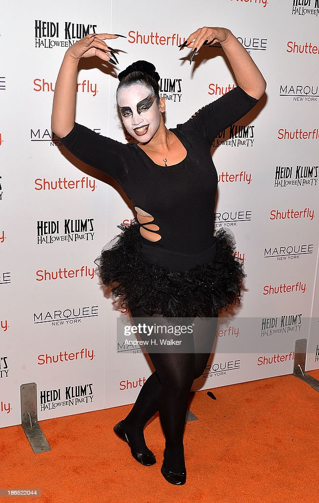Actress Dascha Polanco attends Heidi Klum's Halloween presented by Shutterfly at Marquee on October 31, 2013 in New York City.