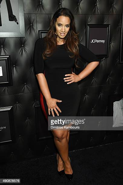 Actress Dascha Polanco attends JCPenney and Michael Strahan's launch of Collection by Michael Strahan on September 30 2015 in New York City
