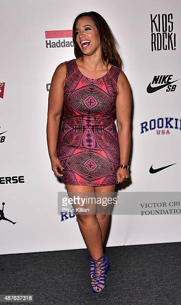 Actress Dascha Polanco attends Kids Rock during New York Fashion Week at The Dock Skylight at Moynihan Station on September 10 2015 in New York City