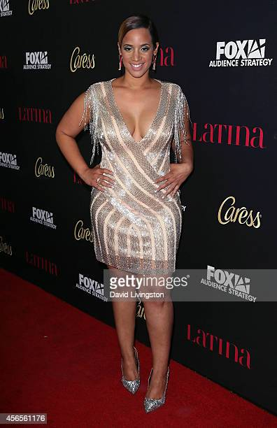 Actress Dascha Polanco attends LATINA Magazine's 'Hollywood Hot List' party at the Sunset Tower Hotel on October 2 2014 in West Hollywood California
