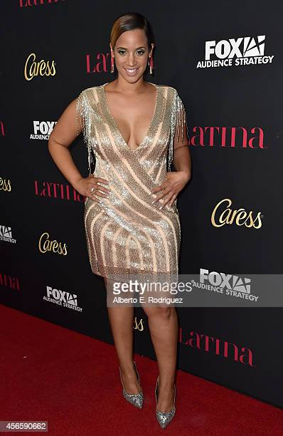 Actress Dascha Polanco attends LATINA Magazine's Hollywood Hot List party at the Sunset Tower Hotel on October 2 2014 in West Hollywood California