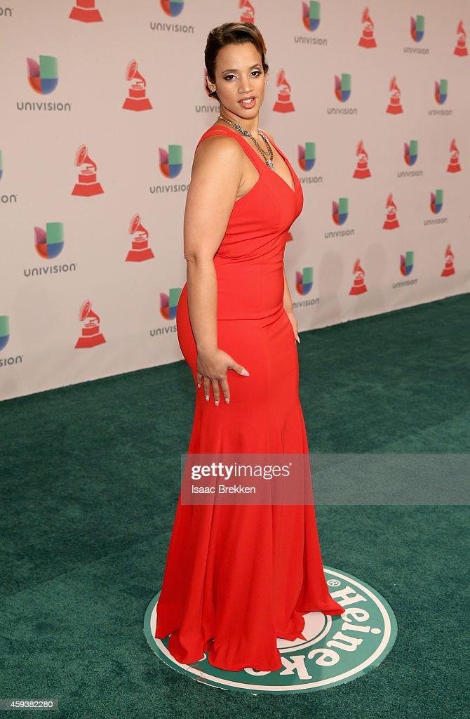 Actress Dascha Polanco attends the 15th annual Latin GRAMMY Awards at the MGM Grand Garden Arena on November 20, 2014 in Las Vegas, Nevada.