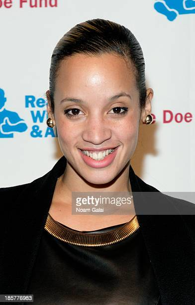 Actress Dascha Polanco attends the 2013 Doe Fund gala at Cipriani 42nd Street on October 24, 2013 in New York City.