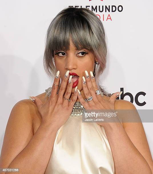 Actress Dascha Polanco attends the 2014 NCLR ALMA Awards at Pasadena Civic Auditorium on October 10 2014 in Pasadena California