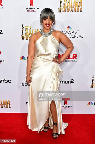 Actress Dascha Polanco attends the 2014 NCLR ALMA Awards at the Pasadena Civic Auditorium on October 10 2014 in Pasadena California