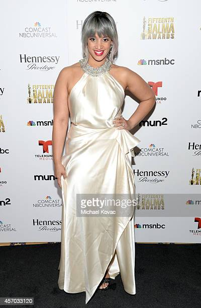 Actress Dascha Polanco attends the 2014 NCLR ALMA Awards Producer's Post Party at the The Langham Huntington Pasadena on October 10 2014 in Pasadena...