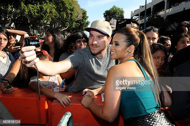 Actress Dascha Polanco attends the 2014 Young Hollywood Awards brought to you by Samsung Galaxy at The Wiltern on July 27 2014 in Los Angeles...