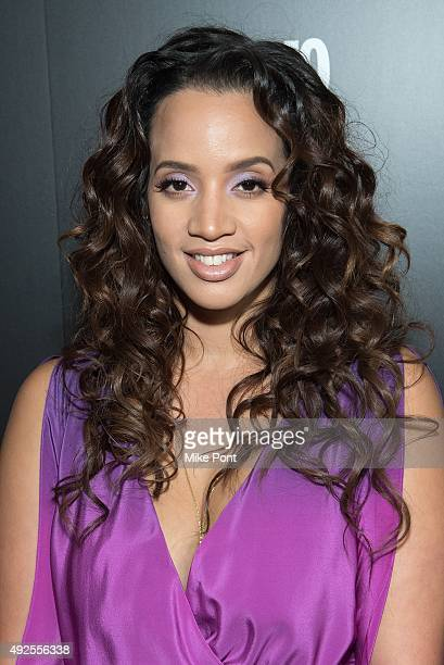 Actress Dascha Polanco attends the 2015 Fun Fearless Latina Awards at Hearst Tower on October 13 2015 in New York City