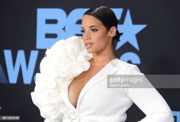 Actress Dascha Polanco attends the 2017 BET Awards at Microsoft Theater on June 25 2017 in Los Angeles California