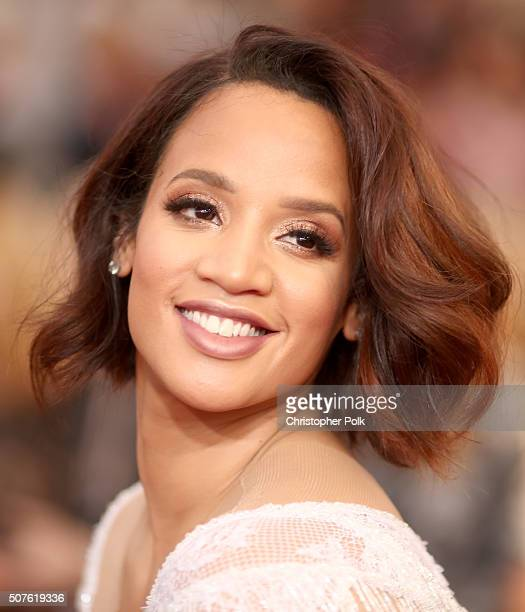 Actress Dascha Polanco attends The 22nd Annual Screen Actors Guild Awards at The Shrine Auditorium on January 30 2016 in Los Angeles California...